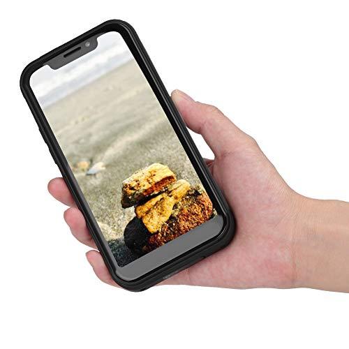 Teléfono Inteligente U007 4G (2GB + 16GB), teléfono Celular gsm Negro con Doble SIM LTE Smartphone 4G para Android 8.1(Enchufe de la UE)