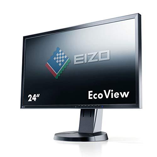 EIZO FlexScan EV2416WFS3 24Zoll WUXGA LED Glanz Flach Schwarz Computerbildschirm, EV2416WFS3-BK