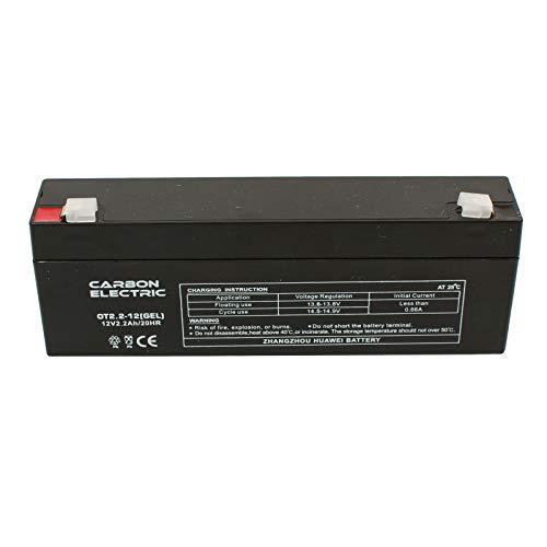 AGM UPS AGM UPS Elektrische accu, 12 V, 2,2 Ah, loodgel, op zonne-energie, noodstroom, 12 V, 2,2 AH, E-bike, 12 volt