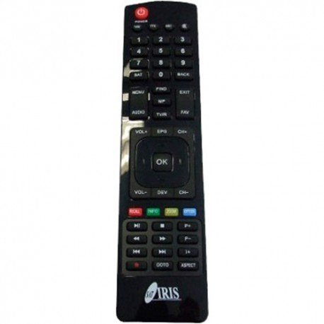 MANDO ORIGINAL IRIS 9700HD/9700HD 02/ 9700HD COMBO