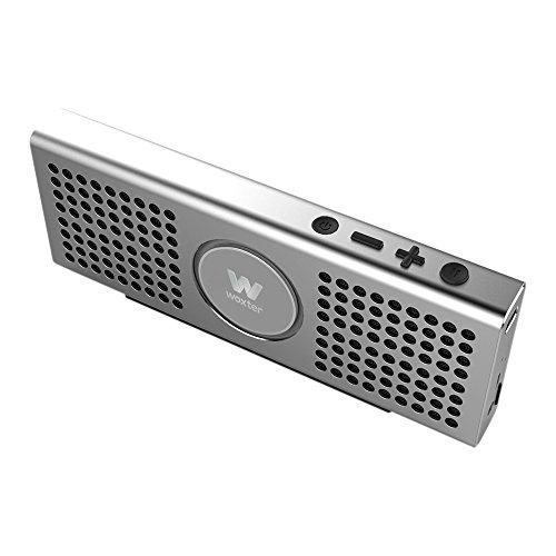 Woxter Big Bass BT-20 Silver- Altavoz portátil Bluetooth