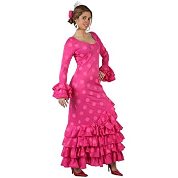 Atosa-97163 Disfraz Flamenca, color rosa, M-L (97163): Amazon.es ...