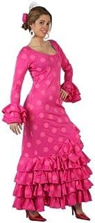 4730b62e53 Atosa-97163 Disfraz Flamenca, Color rosa, M-L (97163