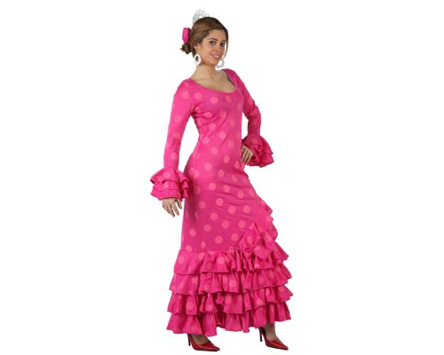 Atosa 97164 carnavalskostuum, roze, XL