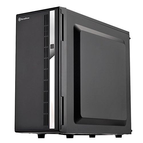 SilverStone SST-CS380 V2 - Case Storage ATX Midi Tower Computer Case, supporto 8 x 3,5 pollici o 2,5 pollici Hot-Swap alloggiamenti HDD, porta frontale con serratura, interno nero e esterno nero