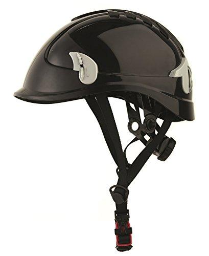 Industriehelm Rigger Helm für arbeiten in der Höhe schwarz