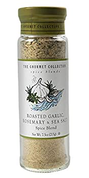 The Gourmet Collection Spice Blends Roasted Garlic Rosemary & Sea Salt Blend - Rosemary Seasoning Salt for Cooking - Meat Fish Vegetable Seasoning!