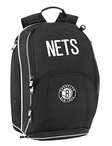 Panini spa Mochila escolar NBA Brooklyn Nets organizada, 42 x 30 x 15 cm, producto oficial