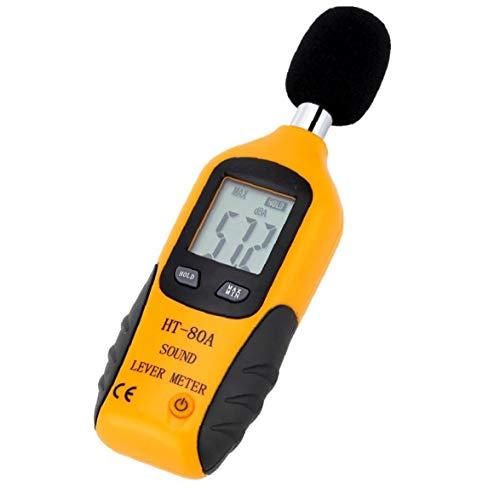 OMMO LEBEINDR HT-80A Digital-Hand Decibel Geräuschmessung Schallpegelmesser Tragbare Mini-Digital-LCD-Display dB Meter ?OPP?