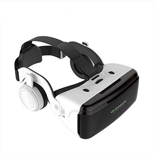 Original VR realidad virtual 3D gafas caja estéreo VR Google cartón casco para IOS Android Smartphone, Bluetooth Rocker, A