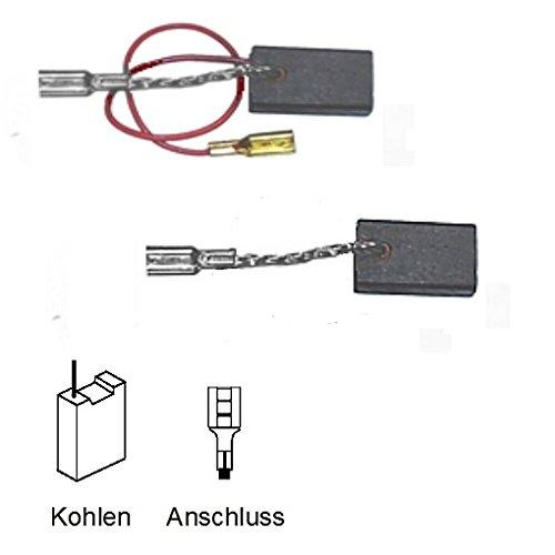 ULFATEC © Kohlebürsten Motorkohlen BOSCH GWS 14-125 CE, GWS 14-150 C - 5x10x17mm (2062)