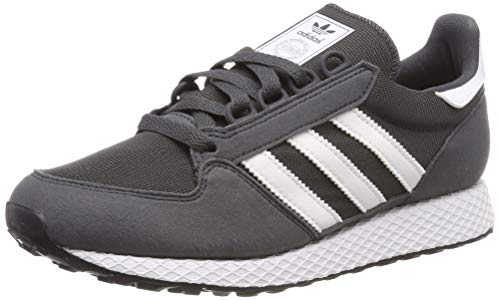 Adidas Forest Grove J Zapatillas de Gimnasia Unisex Niños, Gris (Grey Six/Ftwr White), 36 2/3 EU ⭐