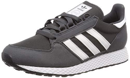 Adidas Forest Grove J Zapatillas de Gimnasia Unisex Niños, Gris (Grey Six/Ftwr White), 36 2/3 EU