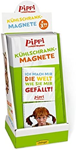 Display Pippi (Film) Kühlschrank-Magnete  24er VE