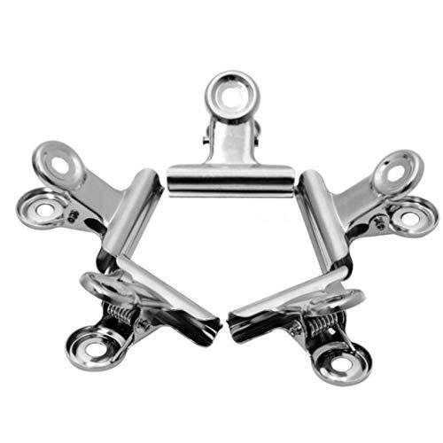 New Hot 6Pcs / Set Nagel-Kunst Russisch C Curve Nail Zwicken Werkzeug-Edelstahl-Acrylnagel-Pincher Clip Maniküre Zubeh?r