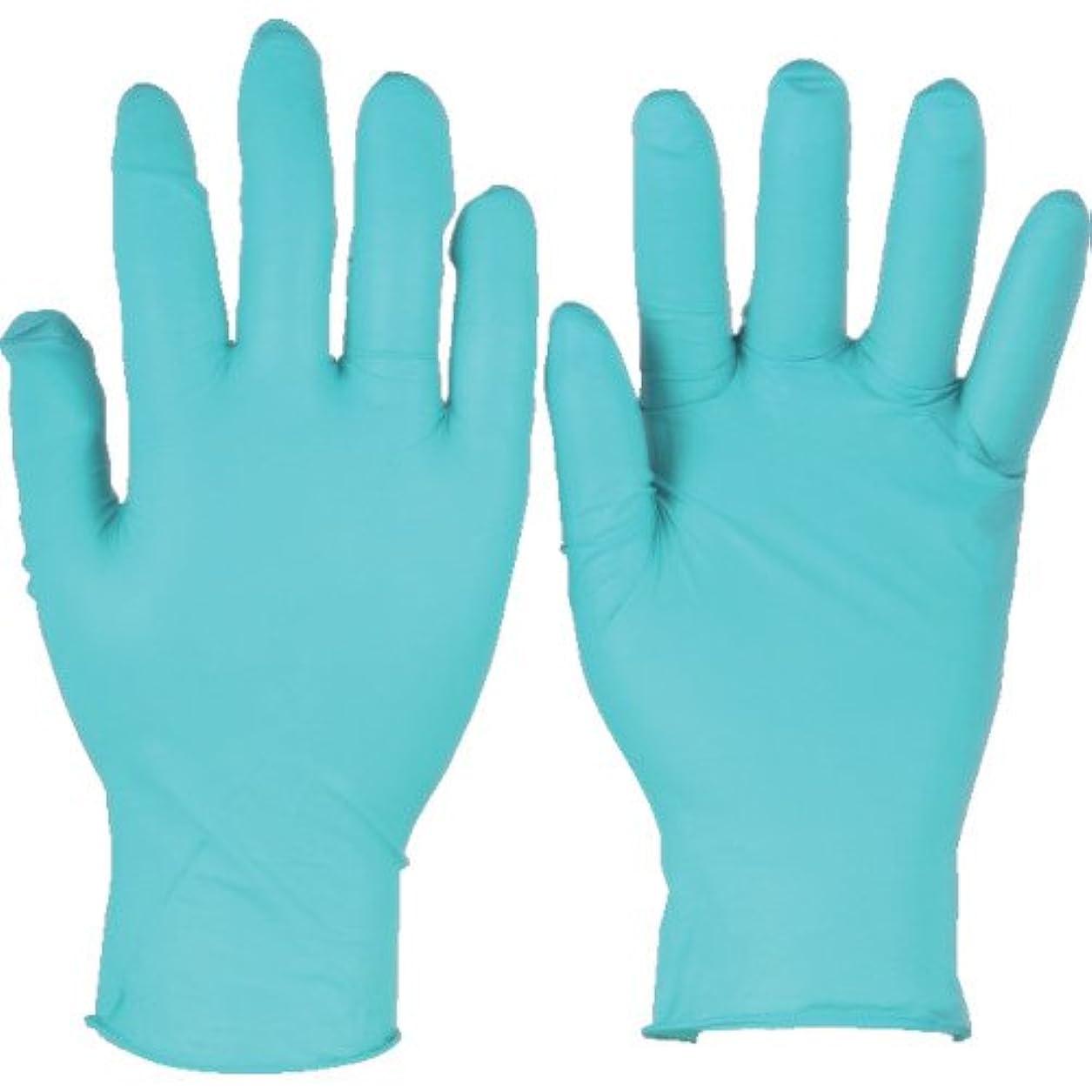 シンボル無意味道路を作るプロセスアンセル ニトリルゴム使い捨て手袋 タッチエヌタフ 粉付 Mサイズ 100枚入 92500-8