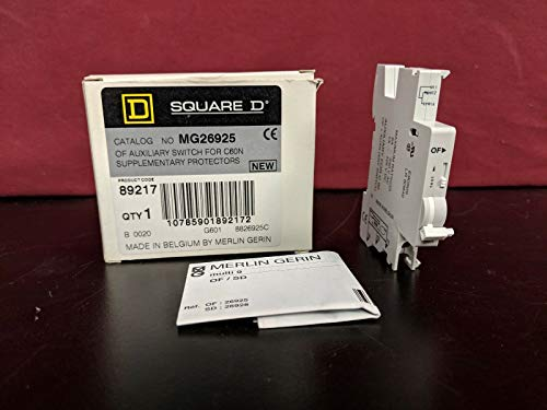 labtechsales Square D Merlin Gerin MG26925 Auxilary Switch for C60N Supplementary Protector