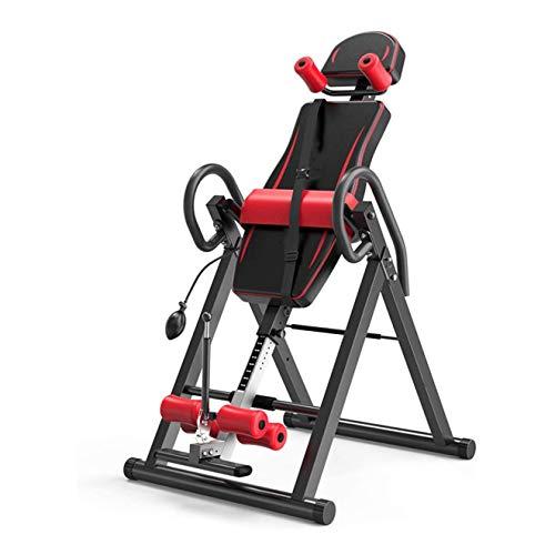 UIZSDIUZ Mesa de Manos, máquina de inversión Plegable Terapia Ajustable Tabla Trasera Camilla para el hogar Fitness Masaje de Yoga