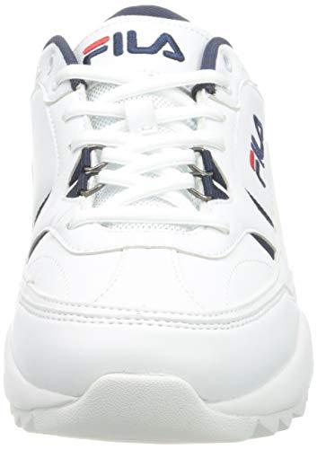 Fila 1010928-92e, Zapatos de Trekking Hombre, White, 42 EU