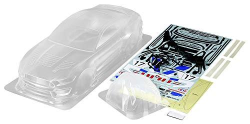Tamiya 51614 1:10 Karosserie Ford Mustang GT4 Unlackiert, nicht ausgeschnitten