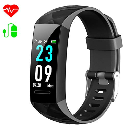 Xooparc Fitness Tracker, Heart Rate Monitor Activity Tracker Fitness Watch with IP67 Waterproof, Smart Bracelet with Step Calorie Counter, Sleep Monitor, Pedometer Watch for Women Men Kids