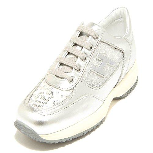 Hogan 4984F Sneaker Junior Interactive H Flock Scarpa Bimba Shoes Kids [30]