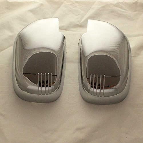 SAXTZDS Cubierta de Espejo retrovisor de Puerta cromada ABS para Exterior de automóvil, para Suzuki Vitara Grande Escudo 2,0 1998-2005