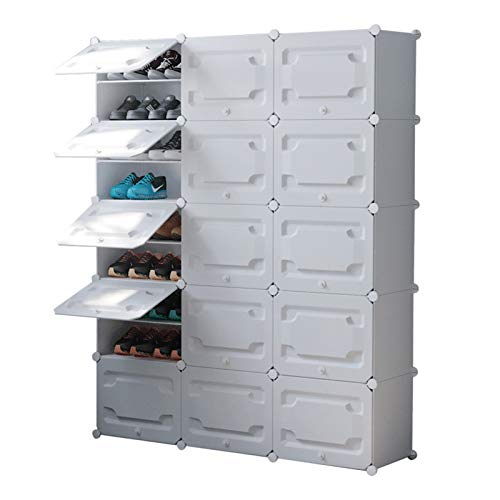 Almacenamiento Portátil de Zapatos Mueble de gabinete expandible para tacones, botas, zapatillas, 10 niveles de zapatos portátil organizador de estante 60 pares de torre de almacenamiento Organizador