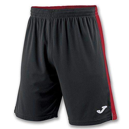 Joma Tokio II Pantalones Cortos, Hombre, Multicolor (Negro/Rojo), M