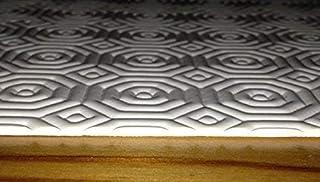 protège-table ovale Taille au choix (seulement ovale) TAPIS PAD DE TABLE molton - blanc, 120 x 160 cm oval