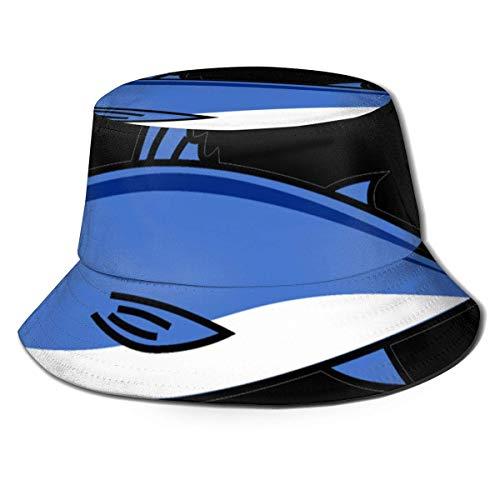 Lawenp Demasiado atn Sombrero de Cubo Unisex Plegable Verano Cubo de Viaje Boonie Sombrero de Sol Gorra de Pescador al Aire Libre