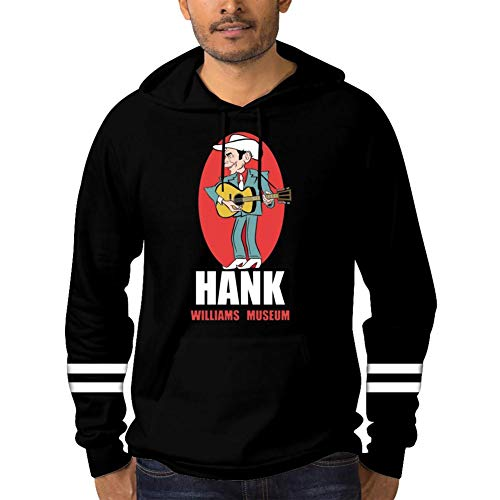 CGWIG Ha-nk Wil-liams Mens Personalized Sweater Black