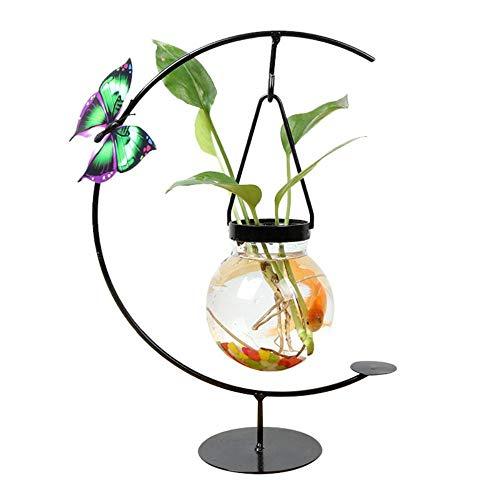ETHAN vaas Plant Home Chinese decoraties ijzer geometrische hydrocultuur glasdecoratie woonkamer creatieve bloemenarrangement renovatie