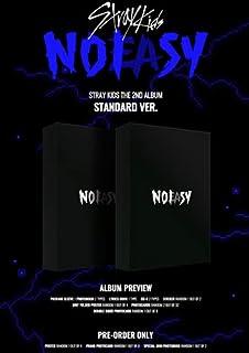 STRAY KIDS - Version standard Noeasy [2 types A et B] Le 2ème album + livre photo + avantage de précommande + affiche plié...