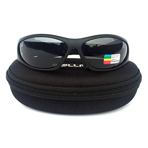 JIAYANLH Gafas de Sol Deportivas Polarizadas con Protección UV 400 Conducción MTB Gafas Ciclismo Correr Conducir Pesca Golf para Hombres y Mujeres (A)