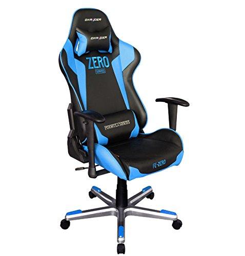 Robas Lund OH/FE00/NB/ZERO Stuhl, schwarz/blau