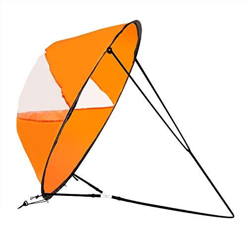 Zealhot Kit de kayak de 100 cm para kayak, remo y remo (naranja)