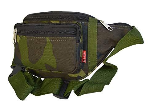 Bauchtasche Gürteltasche Hüfttasche Jogging Angel Urlaub Lauftasche Sport Bag Outdoor DB02 (Camouflage)