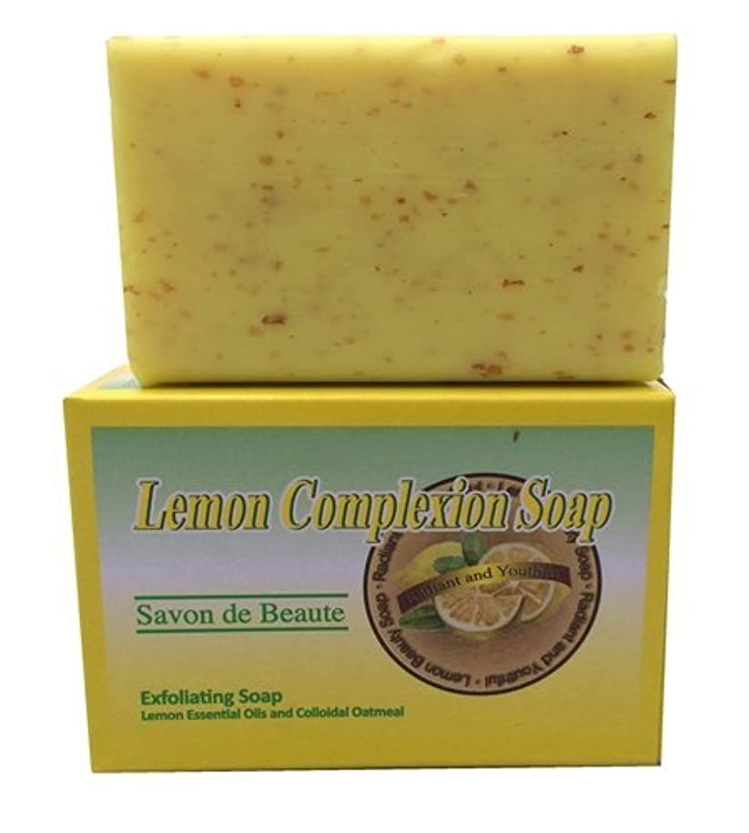 Lemon Exfoliating Complexion Soap For Men & Women, 7 oz ~Free Gift With Order~