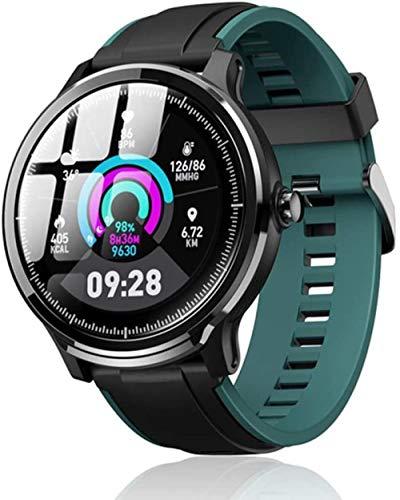 Reloj inteligente impermeable para hombre, monitor de ritmo cardíaco, deportivo, seguimiento de actividad física, reloj inteligente para mujeres-C