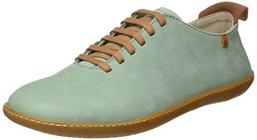 El Naturalista El Viajero, Zapatos de Cordones Derby Hombre, Verde (Mint Mint), 42 EU