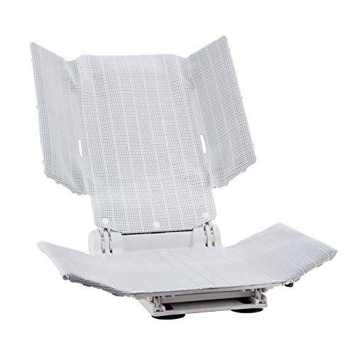 Aquatec SRB Special Reclining Bath Lift, Adjustable Side Supports, Elevating Lift with Hand Remote, 300 lb. Weight Capacity, White, 1573878