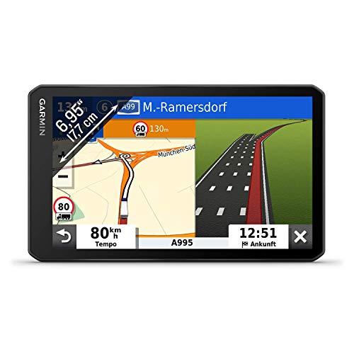 """Garmin dēzl LGV700 MT-D – LKW-Navi mit 6,95"""" (17,7 cm) Touchdisplay und vorinstallierten 3D-EU-Navigationskarten. Digital Traffic DAB+, fahrzeugspezifische Navigation, Warnhinweise, Parkplatz-Finder"""