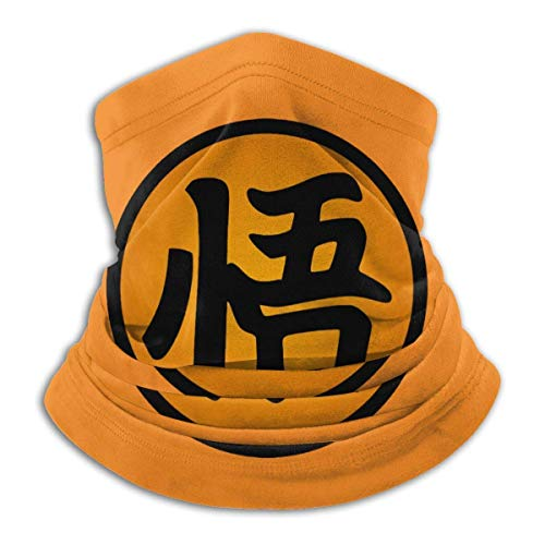 LKZYF Dragon Ball Z Super multifuncional sin costuras unisex de microfibra cómoda cara Ma-sk lavable calentador de cuello polaina para la cabeza bufanda