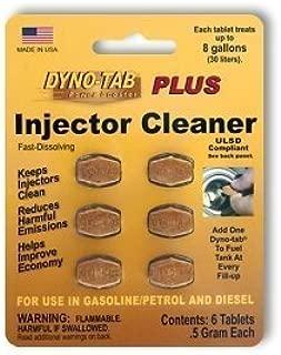 Dyno-tab 45446 Plus Injector Cleaner 6-tab Card