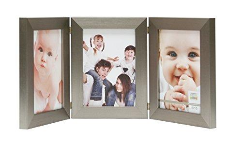 Fotolijst maat (foto): 18 cm H X 13 cm B, kleur: zilver