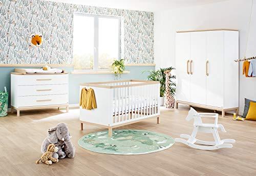 Pinolino 100061BG - Habitación infantil 'Light' ancha, color blanco, 1 unidad