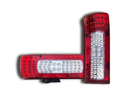 2 x LED Rückleuchten Rückleuchten LKW V O L V O FH12 FM12 FH16 OEM 20425732 20910229 20507623 20425728 21097447 2002-2008 2013