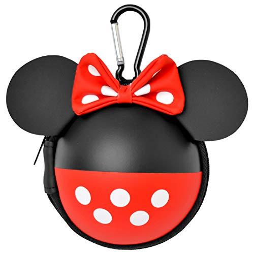 パスケース ディズニー ミッキー ミニー Disney かわいい リール付き パスケース 定期入れ レディース 小銭入れ付き パスポーチ 子供用 キッズ カラビナ
