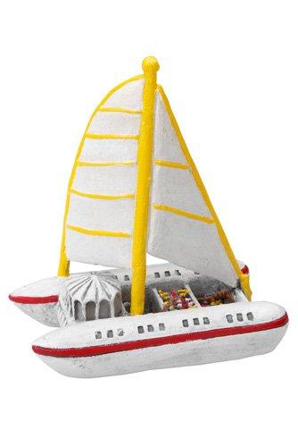 Europet Bernina Aqua Della 234–418901Acuario Decoración Diseño de catamarán, Aprox. 12,5x 7,7x...